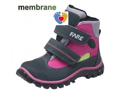 Detská treková obuv FARE 827254