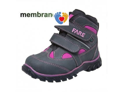 Detská treková obuv FARE 826261
