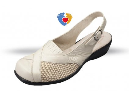 Dámska obuv na hallux JULEX_ORTO 4280