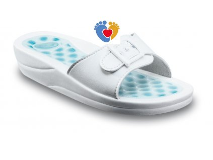zdravotna obuv scholl fitness pebble pvc w biela 16