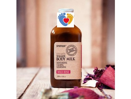 body milk rose grande