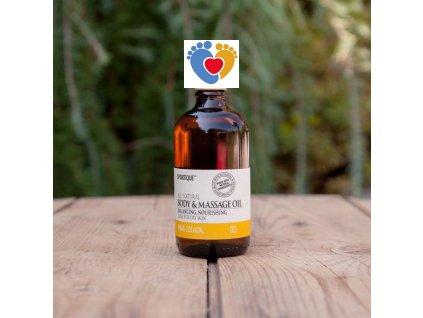 massage oil pinacolada grande