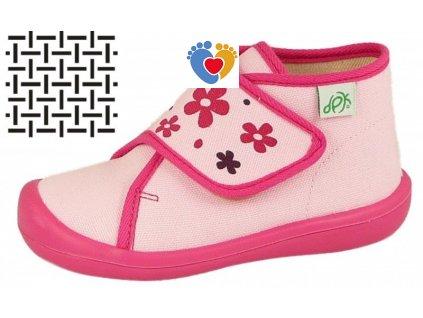 Detské papuče DPK K51018-PAP-W-K-SIT-AS-0516