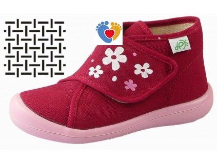 Detské papuče DPK K51018-PAP-W-K-SIT-AS-1305