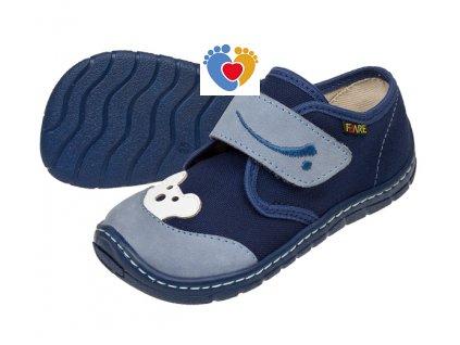 Detské barefoot tenisky FARE BARE  5111402