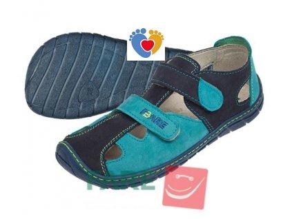 Detské barefoot sandále FARE BARE 5261201