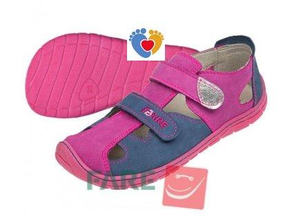 Detské barefoot sandále FARE BARE 5261251