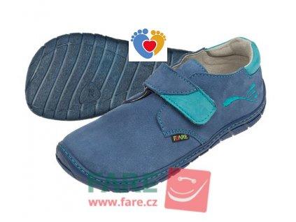 Detské barefoot topánky FARE BARE 5212211