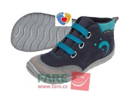 Detské barefoot obuv FARE BARE 5121201