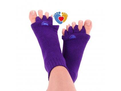 Adjustačné ponožky® PURPLE