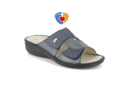 sandal donna leather blu 40 gradi (1)