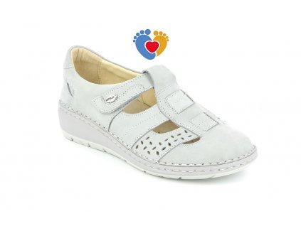 open shoe donna leather grigio 40 gradi
