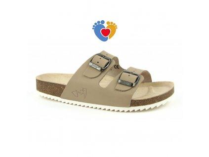 4520 pantofle 2002 pr2 bezove velikost vel 43