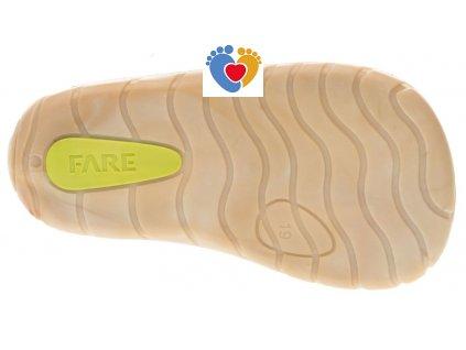 Detské barefoot topánky FARE BARE 5012231