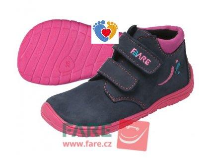 Detské barefoot topánky FARE BARE 5221211