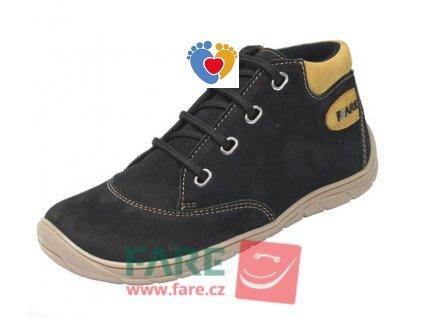 Detské barefoot celoročné topánky FARE BARE 5321211
