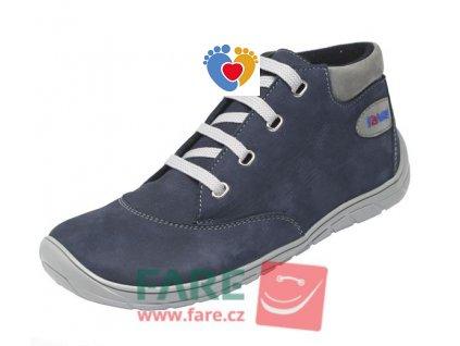 Detské barefoot celoročné topánky FARE BARE 5321201