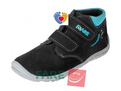 Detské celoročné barefoot topánky FARE BARE 5221212