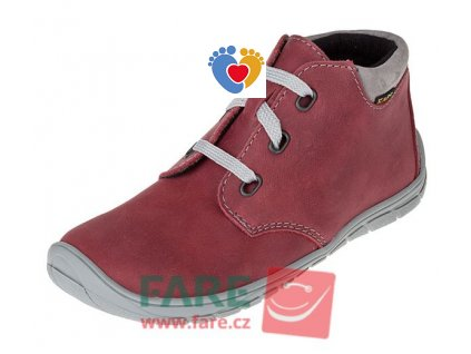 Detské celoročné barefoot topánky FARE BARE 5221241