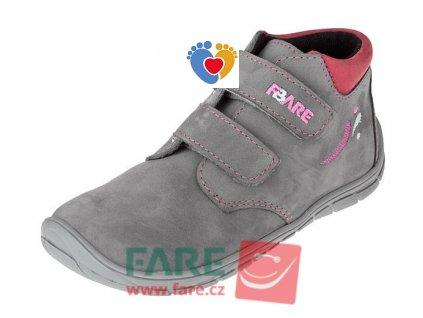 Detské celoročné barefoot topánky FARE BARE 5221263