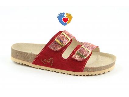 JASNY ortopedická obuv CLASSIC 2002/PR2 fiesta essential red