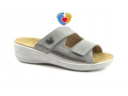 JASNY zdravotná obuv MC-HALLUX šedá