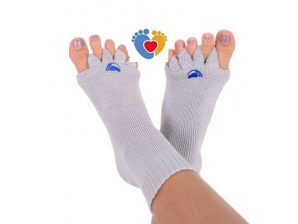 Adjustačné ponožky® GREY  ortopedické ponožky