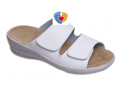 Dámska zdravotná obuv JASNY MC/MIRANDA biela