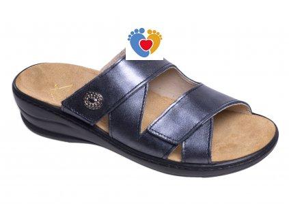 Dámska zdravotná obuv JASNY MC-SAMANTHA Queen čierna