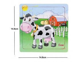 20 New Sale 38 Style Cartoon Wooden Puzzle Children Animal Vehicle Jigsaw Toy 2 6 Year Baby