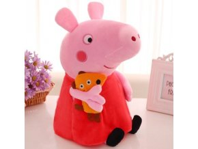 0 Cute 20 30 40 50cm Peppa pig George Family Plush Toy Stuffed Doll Party Decorations Peppa