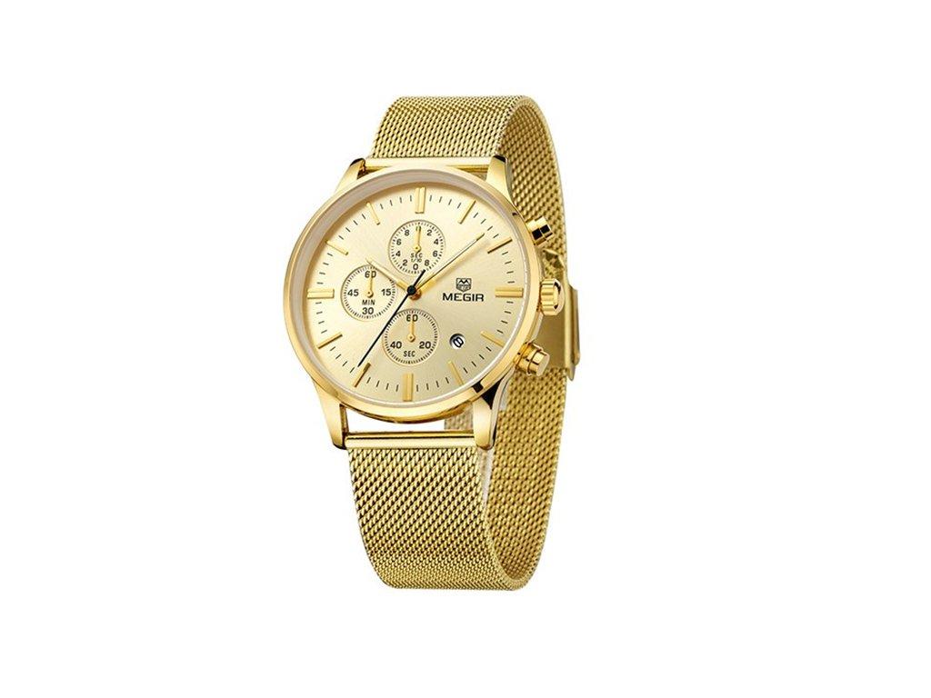 1066 hodinky megir zlate meg0016