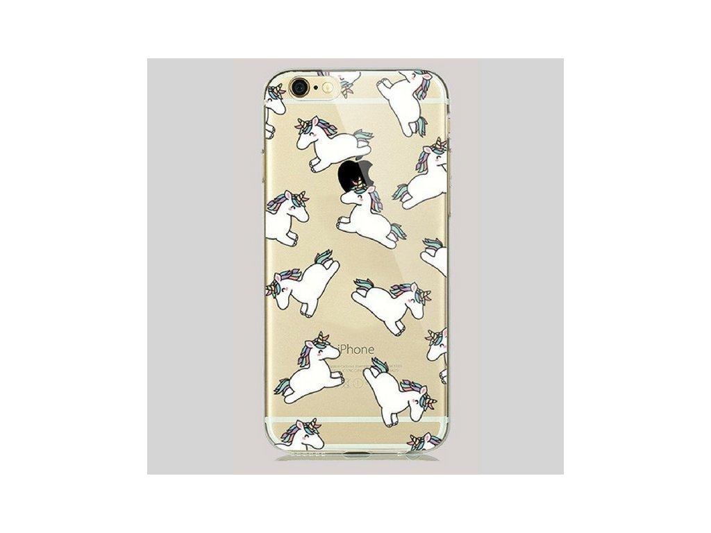 1159 silikonovy kryt summer iphone 5 5s 5se unicorn