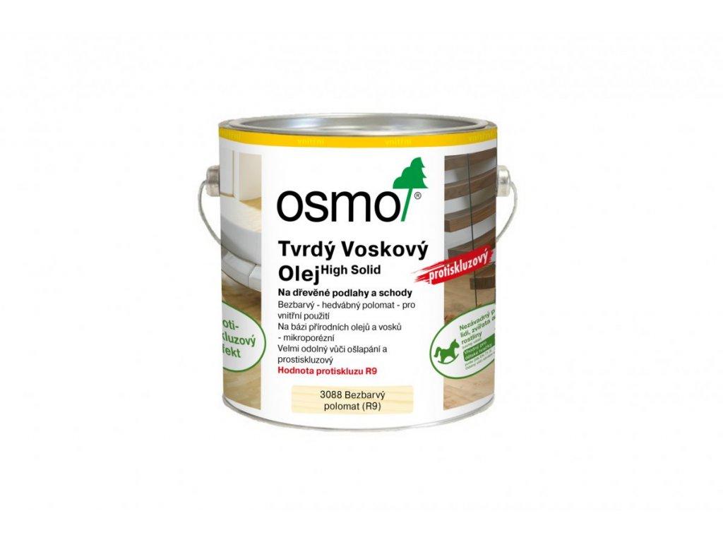 OSMO Tvrdý voskový olej protiskluzový  + doprava ZDARMA nad 2 000Kč