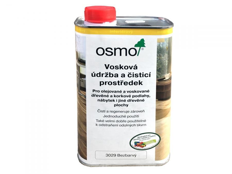 OSMO Vosková údržba a čistící prostředek 3029 bezbarvý + doprava ZDARMA nad 2 000Kč Velikost balení: 10,00 l