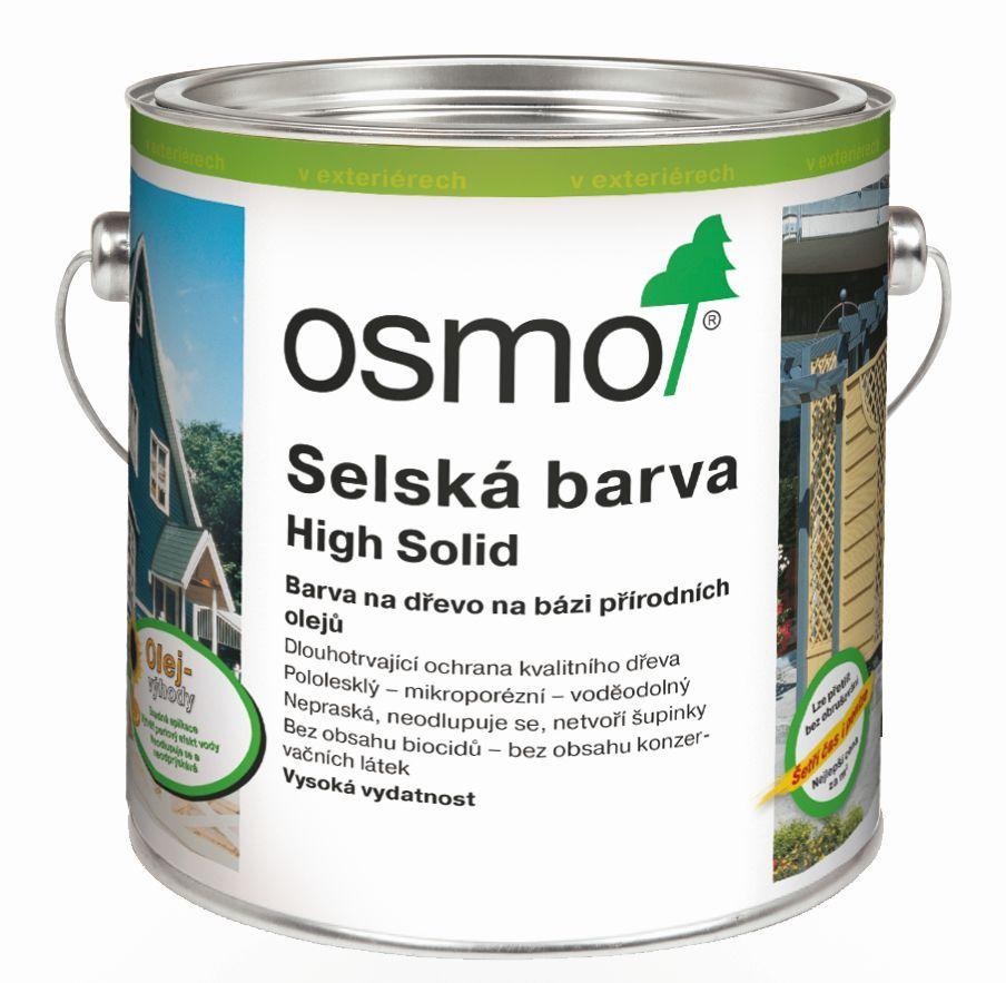 OSMO Selská barva + doprava ZDARMA nad 2 000Kč Velikost balení: 0,75 l, Odstín: 2310 cedr/červené dřevo