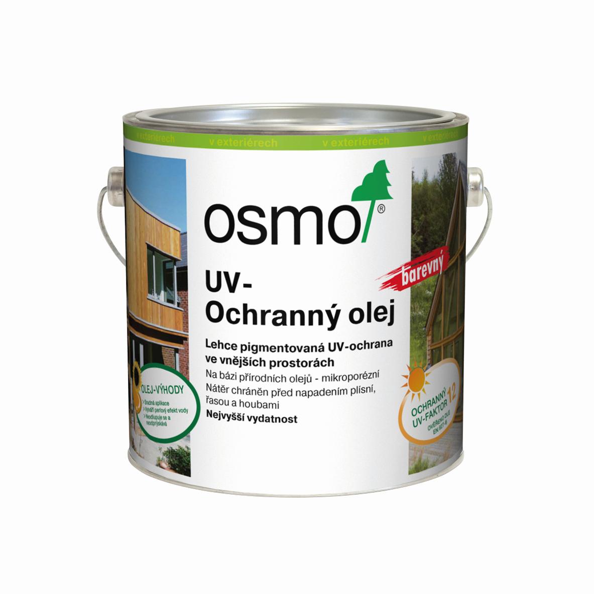 OSMO UV Ochranný olej barevný EXTRA + doprava ZDARMA nad 2 000Kč Velikost balení: 0,75 l, Odstín: 424 smrk/jedle