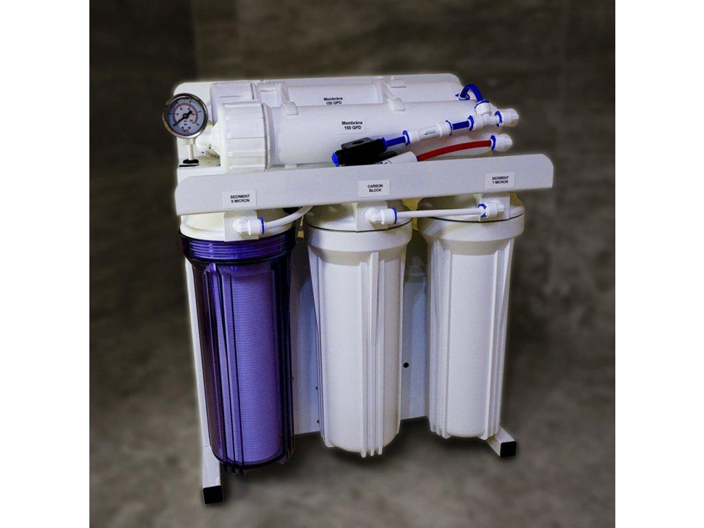 Reverzní osmoza Euroklinika 300 Turbo Profi - královna mezi čističkami  náhradní filtry jako dárek zdarma