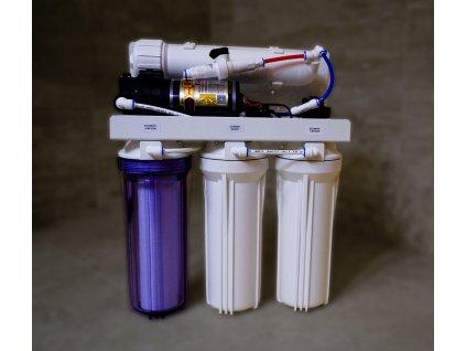 Reverzní osmóza -  výrobník studánkové vody - Euroklinika 105 -  Filmtec