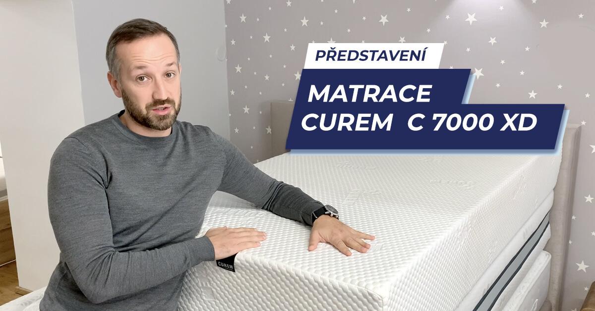 Matrace Curem C 7000 XD - video představení