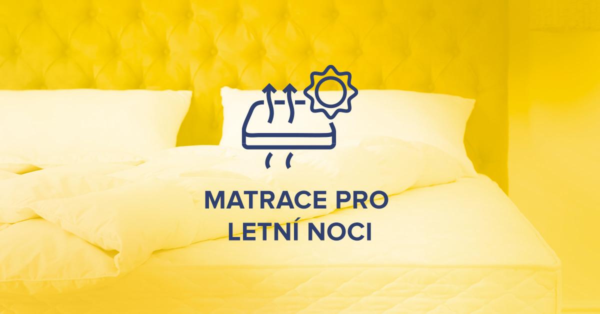 Nejlepší chladivá matrace pro horké letní noci
