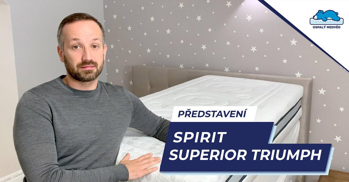 Matrace Spirit Superior Triumph - video představení