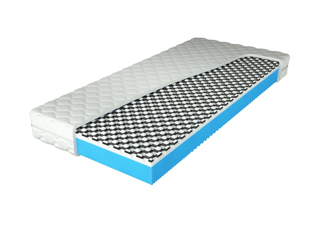 Matrace Blue Antibacterial Cover min