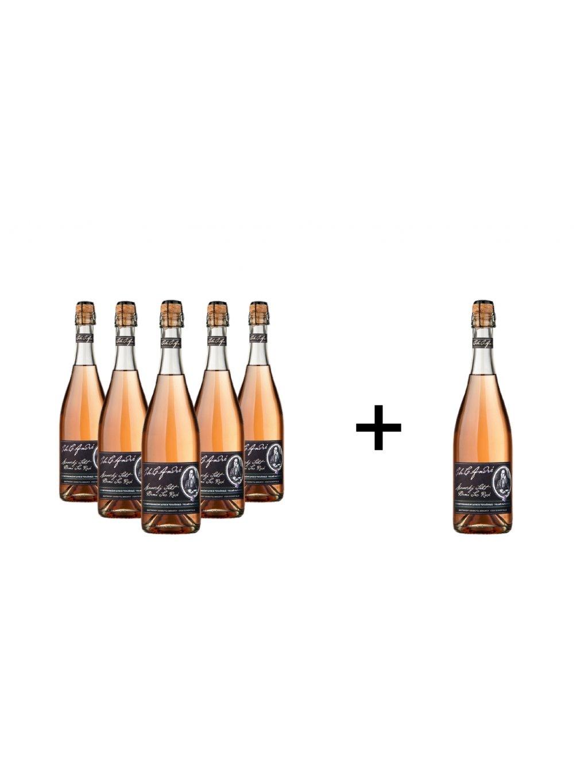 Sekt André rosé šlech