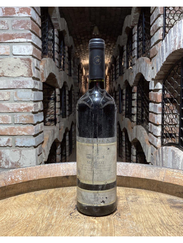 Merlot, pozdní sběr, 2005, suché, vinařství Baloun
