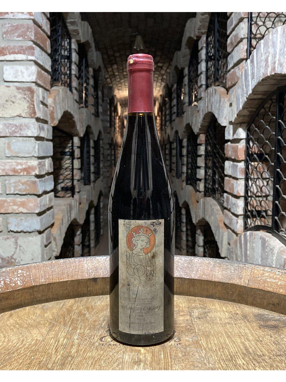 Rulandské modré, pozdní sběr, 2004, suché, vinařství Regina Coeli