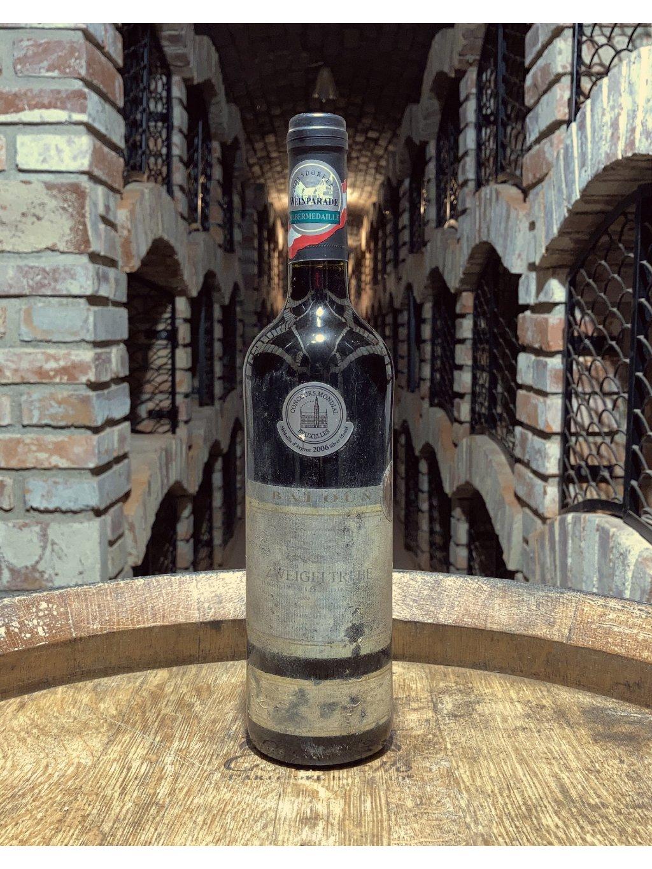Zweigeltrebe, pozdní sběr, suché, 2005, vinařství Baloun