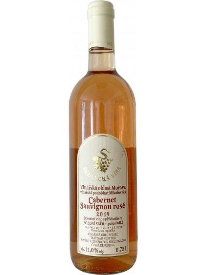 CS rosé,ps,19,Sed,0.75l