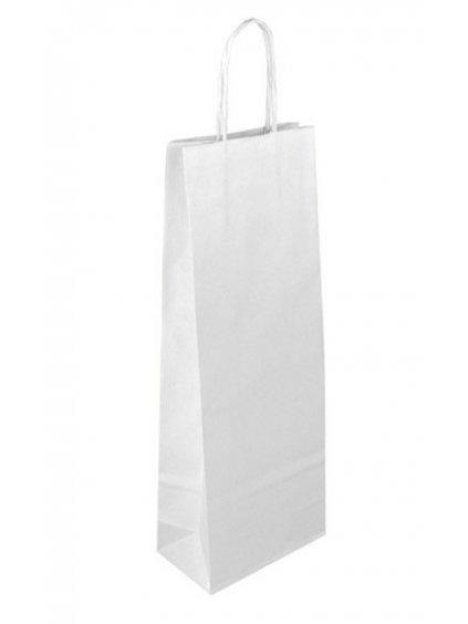 Taška papírová bílá