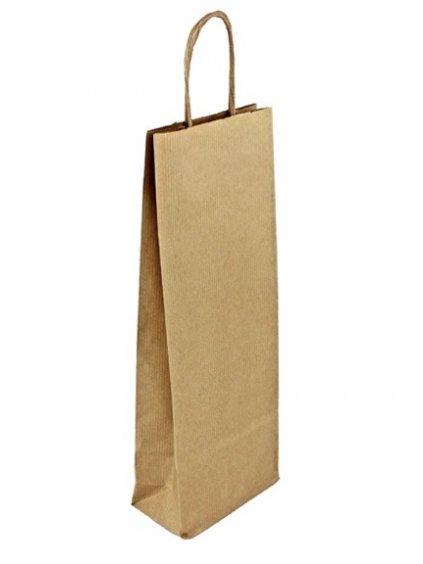 Taška papírová hnědá
